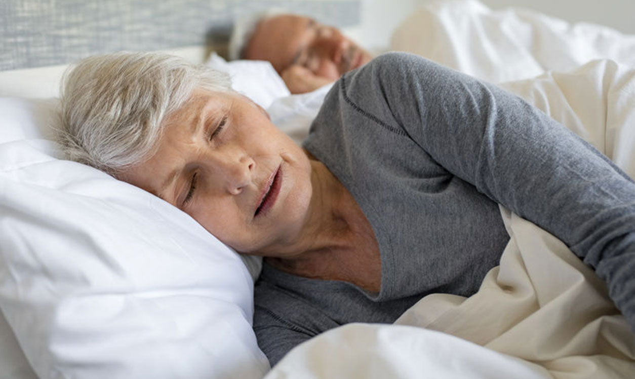 Woman Sleeping for better health
